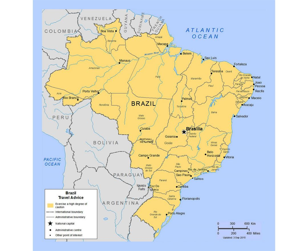 Maps Of Brazil Collection Of Maps Of Brazil South America Mapsland Maps Of The World