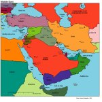 Middle East Middle East Political Map