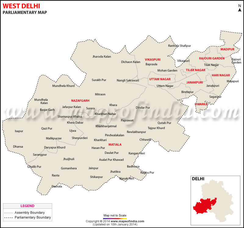 West Delhi Election Result 2019 Parliamentary
