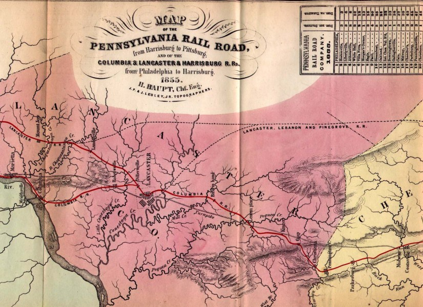 1850 s Pennsylvania Maps Only the title section