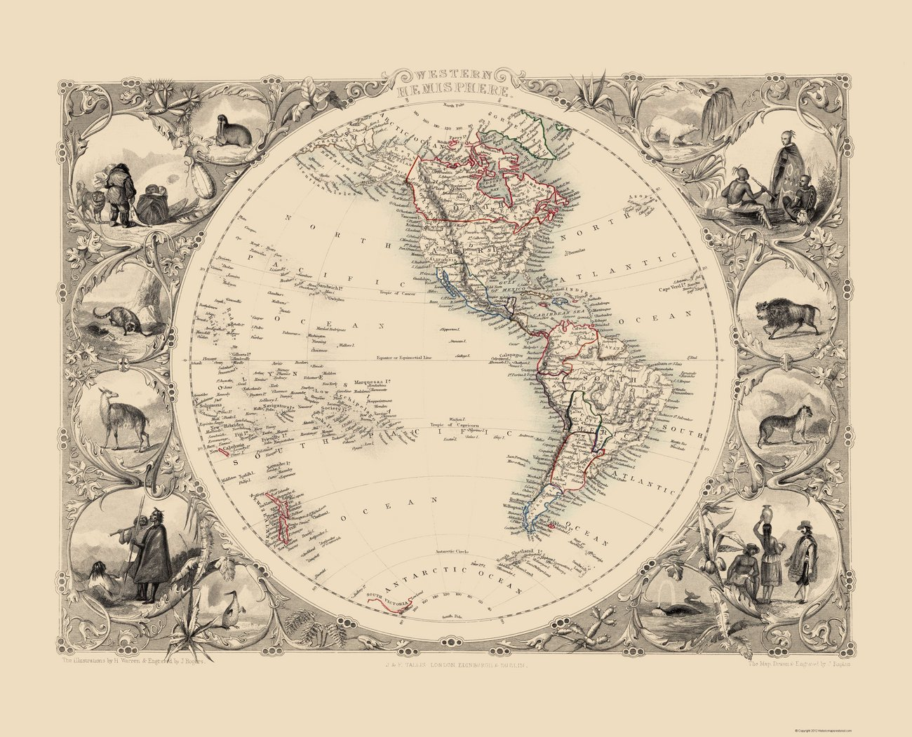 Old International Maps