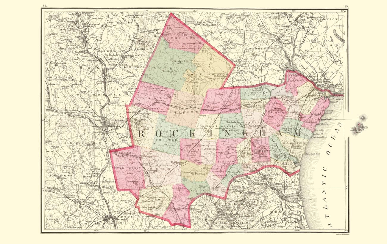 Cities Rockingham County