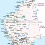 Western Australia Map Map Of Western Australia Maps Of World