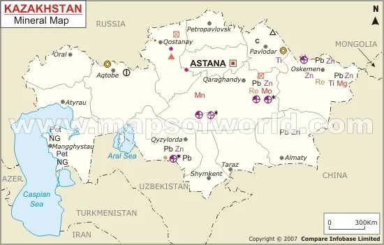 What Are Kazakhstan S Natural Resources