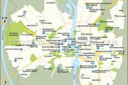 maastricht tourist map » ..:: Edi Maps ::..   Full HD Maps