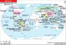 World Map – major Earthquakes