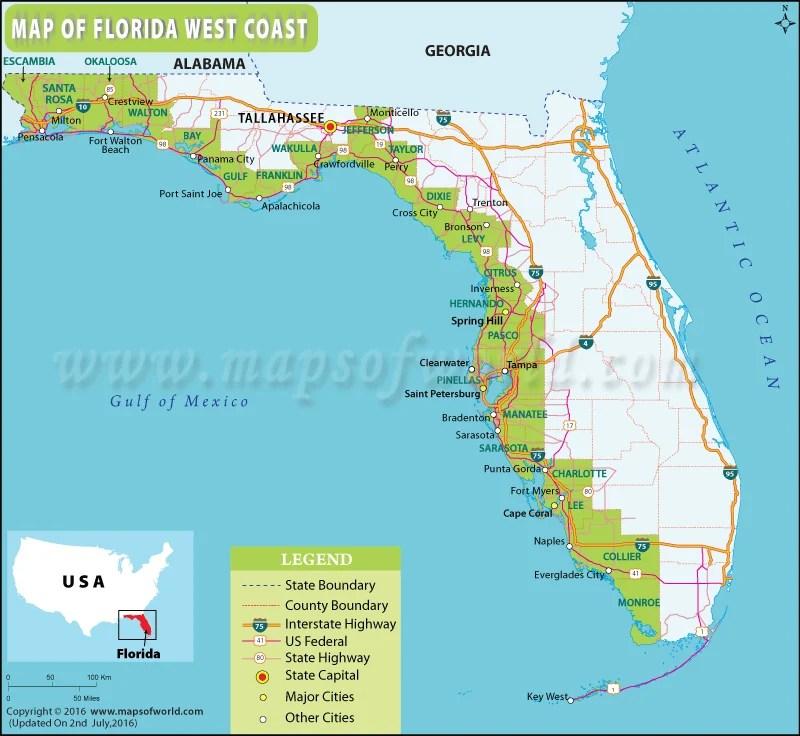 Top  Beaches Gulf Coast Florida