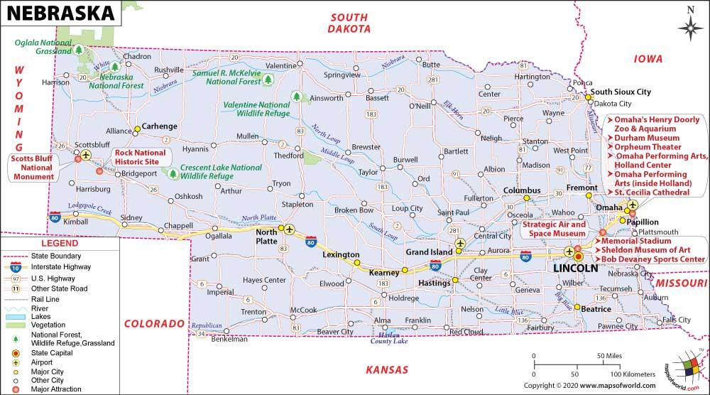 Eastern Us Road Map Highways