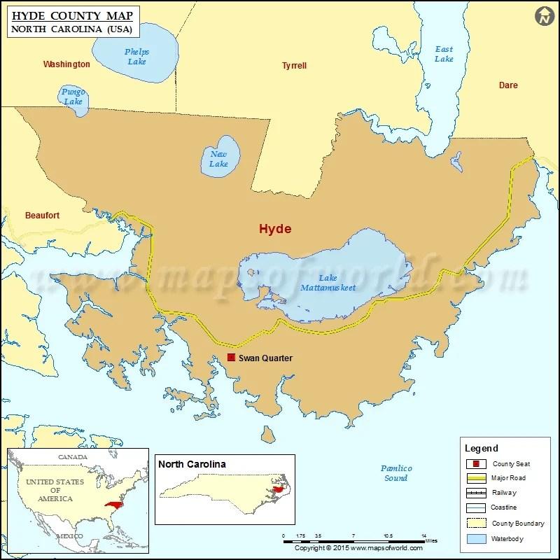 Map North Alamance County Carolina