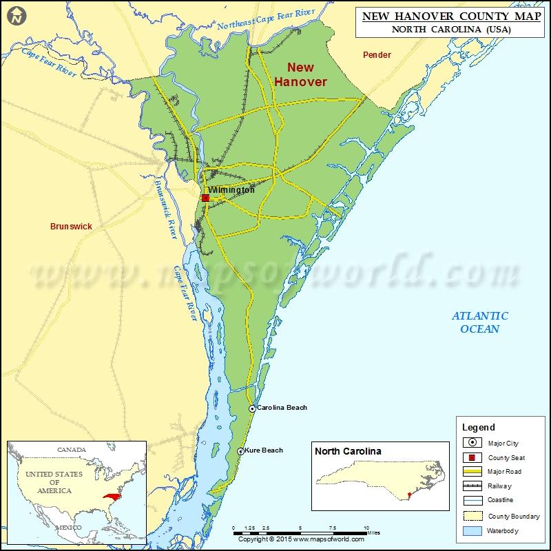 Alamance North Carolina County Map