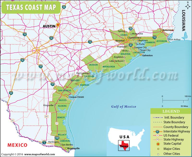Barrier Island Galveston Tx Google Map