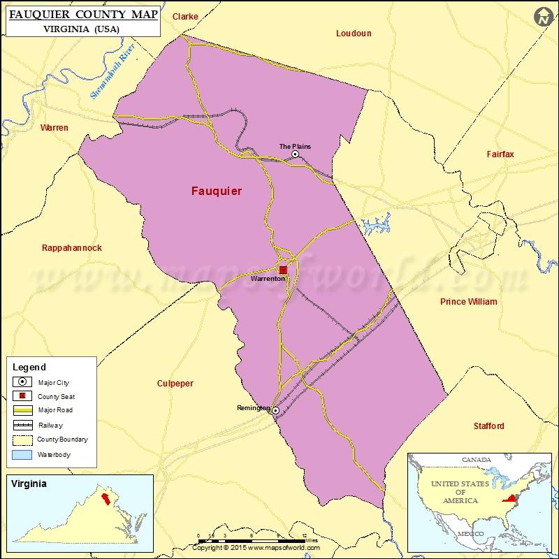 Map Grayson Co Virginia