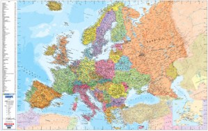 Europe Wall Map
