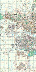 Gauteng West Rand Wall Map