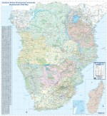 SADC Businessman's Wall Map