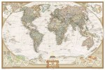 World Executive Wall Map - National Geographic – Executive Small