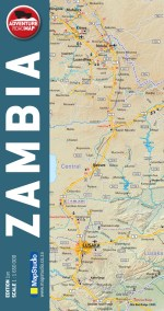 Zambia Adventure Road Map