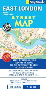 East London, Gonubie Street Map -ePDF