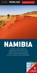 Globetrotter Namibia Travel Map