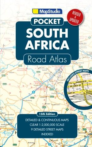 pocket road atlas South Africa