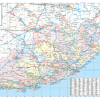 Eastern Cape Provincial Wall Map