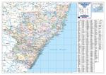 Kwazulu Natal Provincial Wall Map