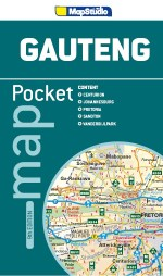 Pocket Map Gauteng 9th cover