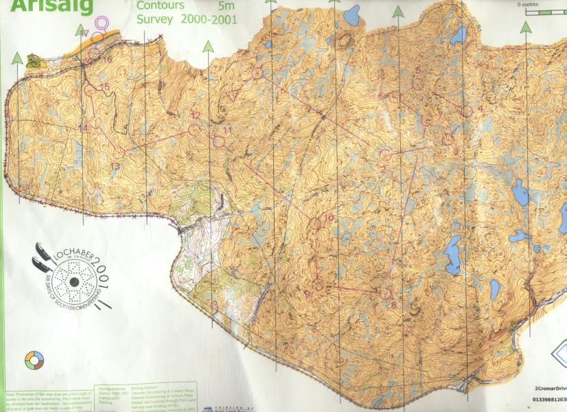 Map 5  101 Orienteering Maps you should run on before you die     Full map