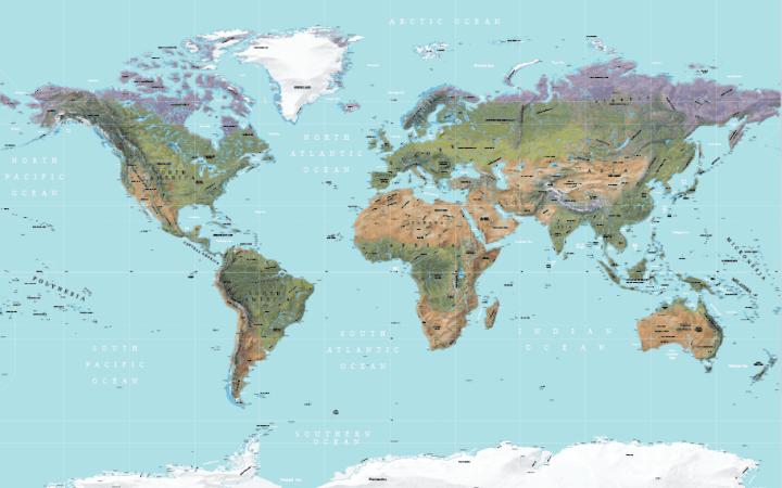 Physical-World-Map-Vector-12