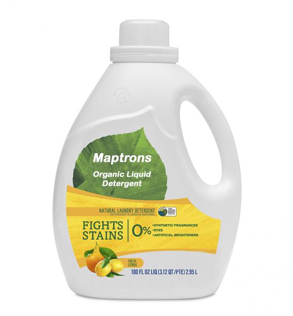 Organic Liquid Detergent Laundry Soap Maptrons