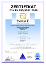 Theresa K DIN ISO 9001:2000