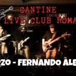 Fernando Alba live a Il Cantine 3 Marzo 2017 ore 22.00