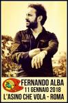 Fernando Alba LIVE L'Asino che Vola Roma 11 gennaio 2018
