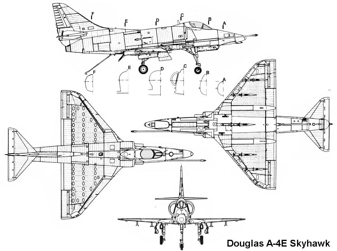 Douglas A 4 Skyhawk