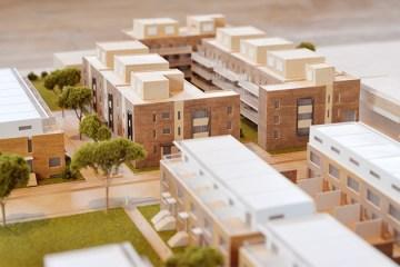 Jenkins Neighborhood Model - Facade details