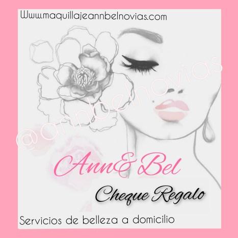 Cheque regalo de servicios de belleza y estetica a domicilio en Madrid