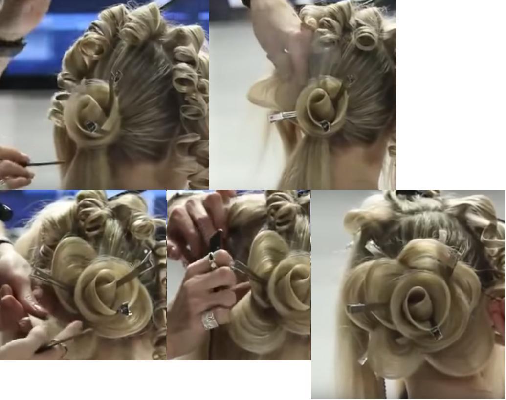 Peinado Rosa En Cabello Paso A Paso Especial Boda