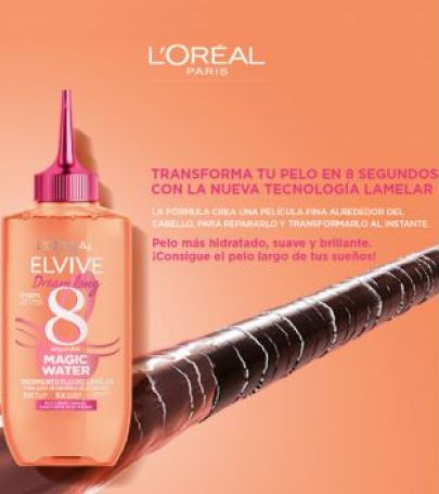 Loreal Paris - Magic Water Elvive Dream Long Treatment 8 seconds - Long, damaged hair