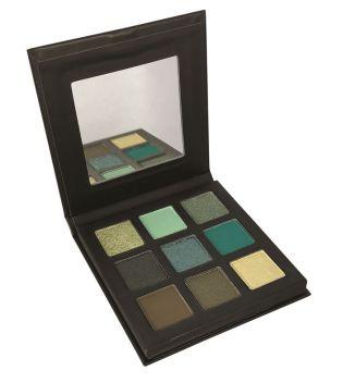 Technic Cosmetics - Paleta de sombras Pressed Pigments - Mesmerising