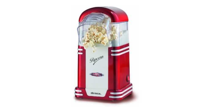 ¿Cómo se llama la máquina de hacer palomitas?