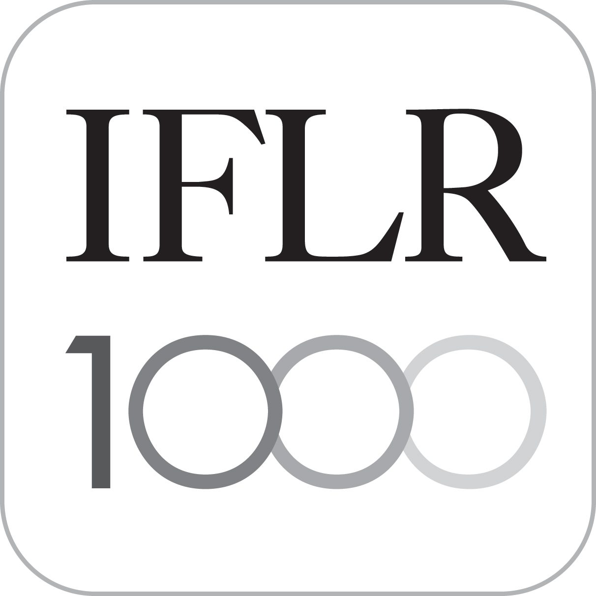 Logo of IFLR1000 - MAR & Associates membership