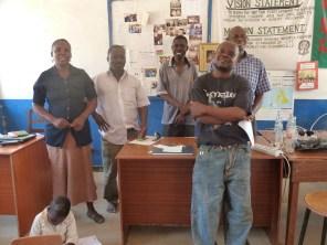 The teachers at Malita's school