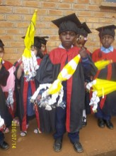 A big ceremony is held at wukani education facility when children graduate from nursery