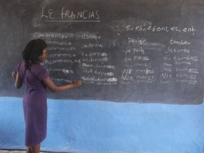 French is one of the subjects at Wukani education facility