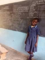 Katie at school