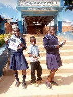 At Marajowi we regularly exchange letters with the kids