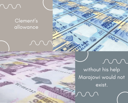 Without Clement's support Marajowi would not be able to survive