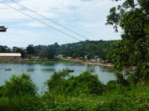 Nkhata Bay is a sheltered harbour