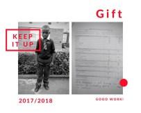 Gift's school report
