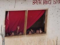 Kids from Breakthrough nursery